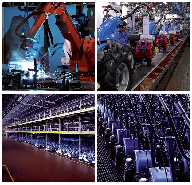 производственный процесс на заводах концерна BCS
